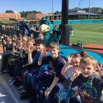 K-5 at ball game2 Feb 2016